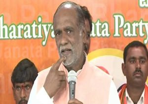 TS BJP President Laxman Comments on CM KCR and KTR Over Hyderabad Development