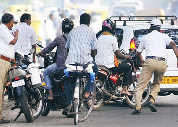 walk 500 meters Bike If Caught Without Helmet Says Agra police