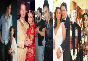 Indian Heroines in Love With Foreign Boy Friends