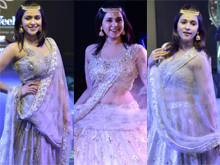 Mannara Chopra Showstopper for Ap fashion week Photos