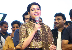 Samantha Speech at Rangasthalam Pre Release Event