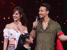 Tiger Shroff And Disha Patani On Set Of Did Little Master Photos