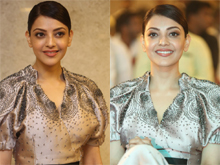 Kajal Agarwal At MLA Pre Release Event Photos
