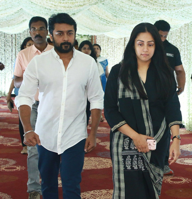 Celebs At Sridevi Prayer meet At Chennai Photos
