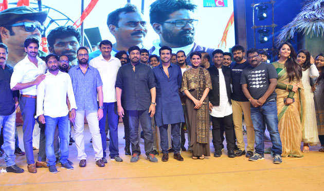 Rangasthalam Pre Release Event Set 5 Photos