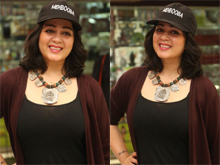 Actress Charmi At Mehbooba Pressmeet Photos