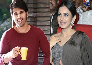 Allu Sirish Jealous with Rakul Preet Singh