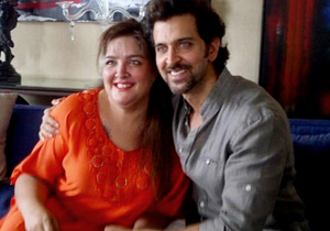 Hrithik Roshan and sister Sunaina are all smiles for the camera