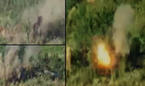 Indian Army attack on Pakistani bunkers along LoC in Nowshera