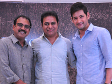 KTR Watches Mahesh Babu Bharat Ane Nenu Movie Photos