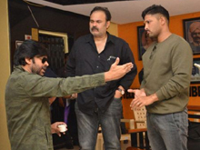 Pawan Kalyan At Film Chamber Photos