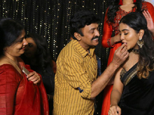 Rajasekhar Daughter Shivatmika Birthday Consecrations Photos