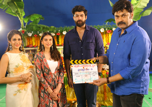 Varun Tej And Sankalp Reddy Movie Launch Photos