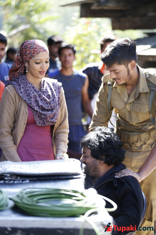 Mehbooba Working Stills And Posters