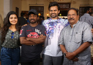 Sai Dharam Tej New Movie On Location Photos