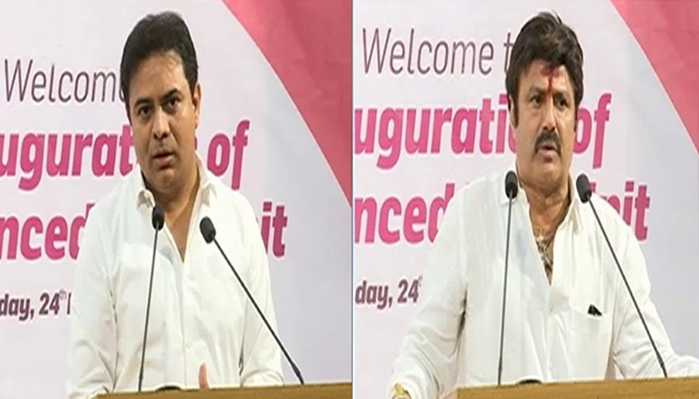 Balakrishna said KCR named KTR after his father