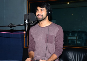 Kalyan Dev Starts Dubbing for his Debut Movie
