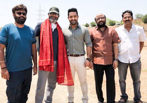 NTR And Trivikram Film overseas Rights
