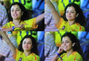 Nisha Agarwal Supports Chennai Superkings