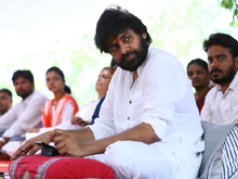 Pawan Kalyan Doing his One Day Hunger Strike In Srikakulam Photos