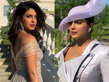 Priyanka Chopra Spotted at Royal Wedding Photos