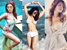 Shama Sikander Bikini Photo Shoot Photos
