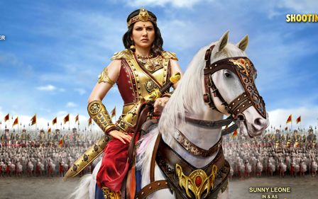 Sunny Leone Veeramahadevi Movie First look