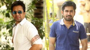 Vijay Antony and Arjun Sarja team up for Kolaikaran?