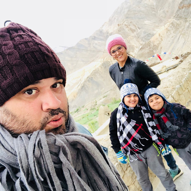 Anasuya Vacation with Her Family Photos