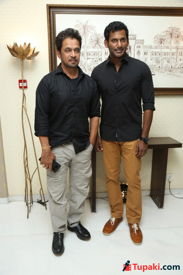Abhimanyudu Press Meet Photos