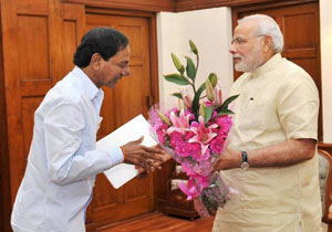 KCR One Hour Meeating with Prime Minister Narendra Modi