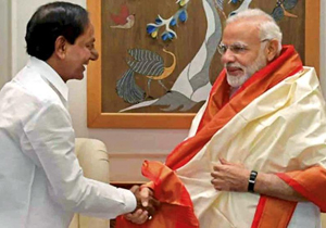 KCR Request to Narendra Modi During present Meeting