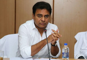 KTR Upset with Phone Ringing