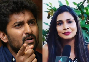 Nani Gives Perfect Reply to Sanjana Comments