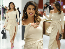 Priyanka Chopra Shopping at Saks Fifth Avenue in New York