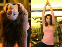 Raashi Khanna Yoga Day Celebrations photos