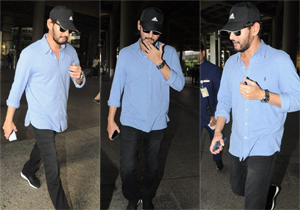 Mahesh Babu Spotted in Airport Photos