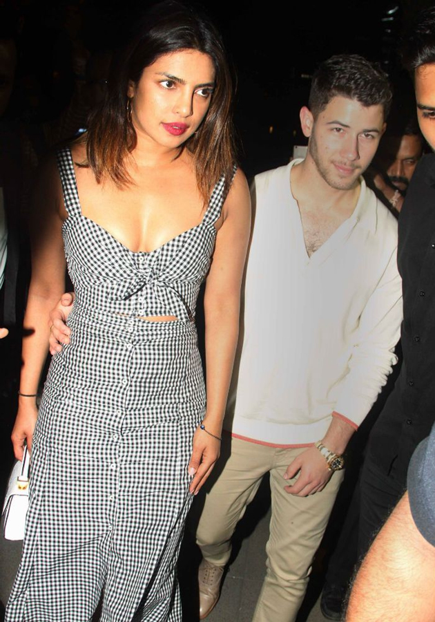 Priyanka Chopra Spotted with Her Boy Friend Photos