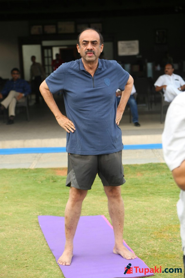 FNCC Yoga Day Celebrations Photos
