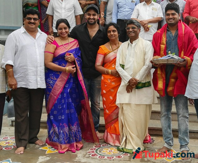 Naga Shourya New Film Launch Photos