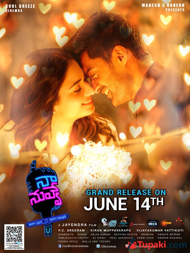 Naa Nuvve Release Date Posters