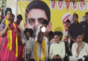 Former Minister Peethala Sujatha Shocking Comments About Lokesh