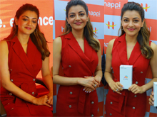 Kajal Aggarwal Launches Happi Mobiles Store In Hanamkonda