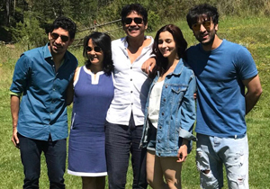 Nagarjuna With Brahmastra Team Photos