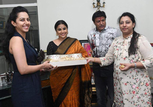 Nandamuri family welcomes Vidya Balan Photos