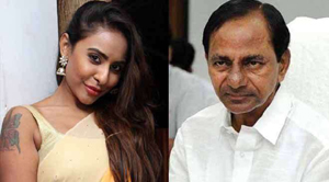 Sri Reddy Request to KCR Not Ban Hyderabad