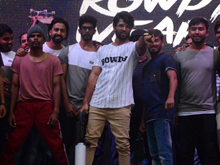 Vijay Devarakonda Launches Rowdy App Photos