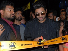 Allu Arjun Launches B Dubs at Gachibowli Photos