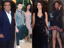 Celebs At Priyanka Chopra and Nick engagement bash