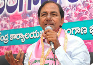 KCR Reverse Punch To Journalist in Meeting